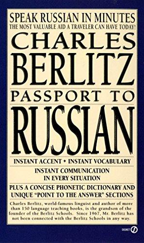 Passport to Russian (Berlitz Travel Companions): Charles Berlitz