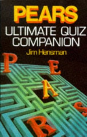 9780451172204: Pears Ultimate Quiz Companion (Signet)