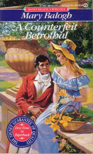 A COUNTERFEIT BETROTHAL (1st Printing): Balogh, Mary