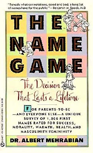 9780451172624: The Name Game