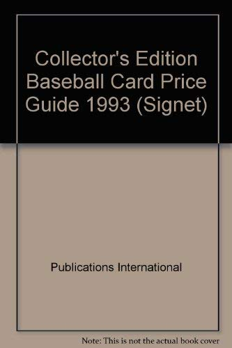 9780451172631: The Official Baseball Card Price Guide 1992 (Signet)