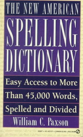 9780451173775: The New American Spelling Dictionary