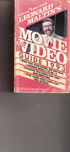 Leonard Maltin's Movie and Video Guide 1993 (Signet)