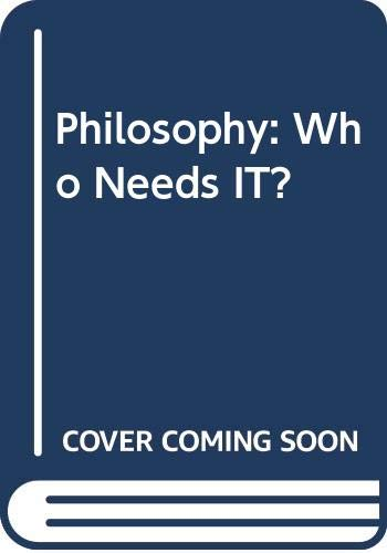 9780451173942: Philosophy: Who Needs it? (The Ayn Rand library)