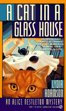 9780451177063: A Cat in a Glass House: An Alice Nestleton Mystery