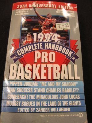 9780451177940: The Complete Handbook of Pro Basketball 1994: 1994 Edition