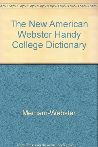 9780451178404: Webster's Handy College Dictionary, The New American: Revised and Expanded