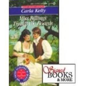 9780451178565: Miss Billings Treads the Boards (Signet Regency Romance)