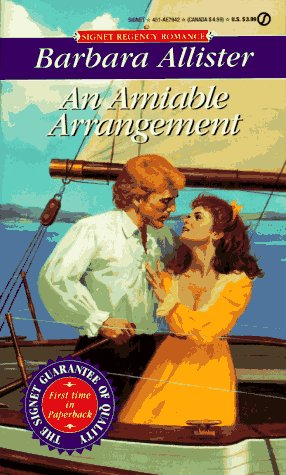 9780451179425: AN Amiable Arrangement (Signet Regency Romance)