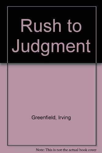 9780451180889: Rush to Judgment