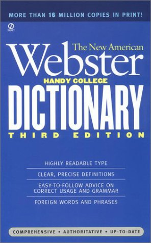 9780451181664: The New American Webster Handy College Dictionary: New Third Edition