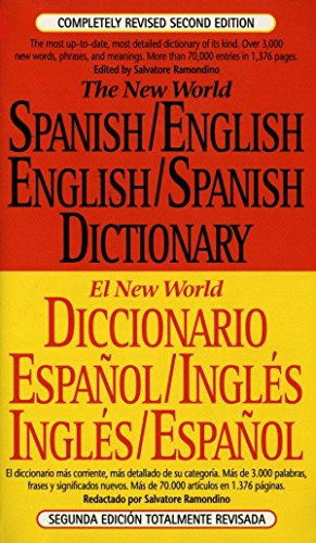 9780451181688: The New World Spanish/English,English/Spanish Dictionary: Second Edition