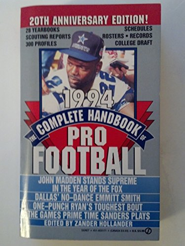 9780451181718: The Complete Handbook of Pro Football 1994: 1994 Edition