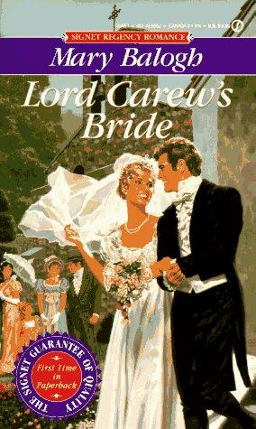 9780451185525: Lord Carew's Bride (Signet Regency Romance)