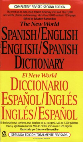 9780451188748: Spanish English Dictionary