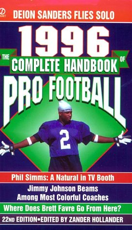 9780451188861: The Complete Handbook of Pro Football 1996: 1996 Edition