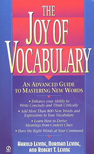 9780451193964: The Joy of Vocabulary: An Advanced Guide to Mastering New Words