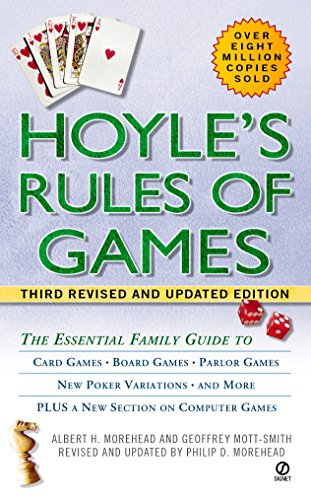 9780451204844: Hoyle's Rules of Games: The Essential Family Guide to Card Games, Board Games, Parlor Games, New Poker Variations, and More