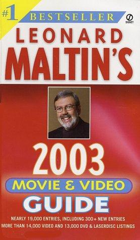 9780451206497: Leonard Maltin's Movie and Video Guide 2003 (Leonard Maltin's Movie Guide (Mass Market))