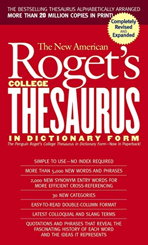 9780451207166: New American Roget's College Thesaurus in Dictionary Form (Revised & Updated)