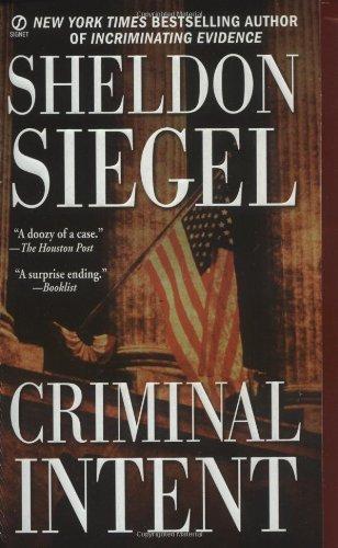 9780451209535: Criminal Intent