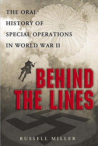 9780451211125: Behind the Lines: The Oral History of Special Operations in World War II