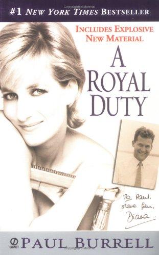 9780451212764: A Royal Duty