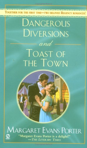 9780451215963: Dangerous Diversions and Toast of the Town (Signet Regency Romance)