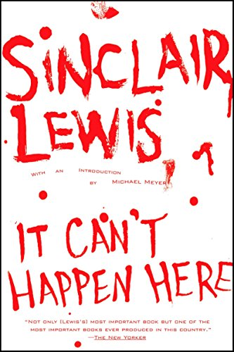 It Can't Happen Here (Signet Classics): Lewis, Sinclair