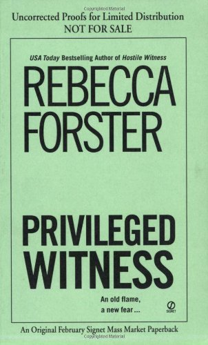 9780451217776: Privileged Witness