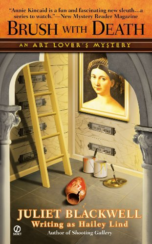 Brush With Death: An Art Lover's Mystery: Blackwell, Juliet