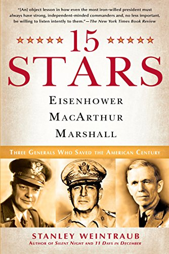 9780451223920: 15 Stars: Eisenhower, MacArthur, Marshall: Three Generals Who Saved the American Century