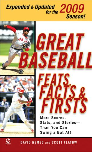 9780451226570: Great Baseball Feats, Facts, and Firsts (2009 Edition) (Great Baseball Feats, Facts & Firsts)