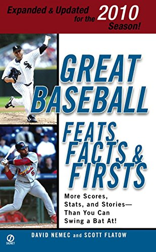 9780451229557: Great Baseball Feats, Facts & Firsts (2010 Edition)