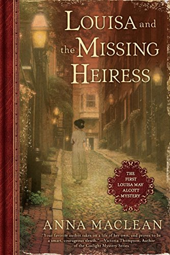 9780451233240: Louisa and the Missing Heiress: The First Louisa May Alcott Mystery