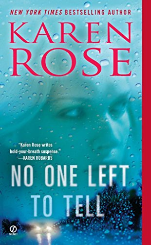 9780451236166: No One Left to Tell (The Baltimore Series)