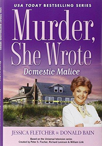 9780451238030: Domestic Malice: A Murder, She Wrote Mystery