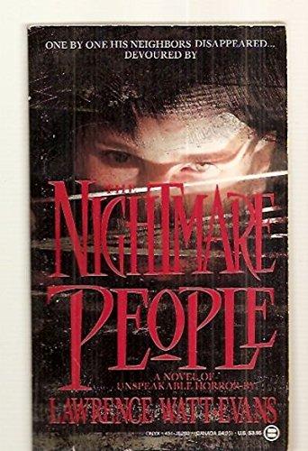 Nightmare People (Onyx): Watt-Evans, Lawrence