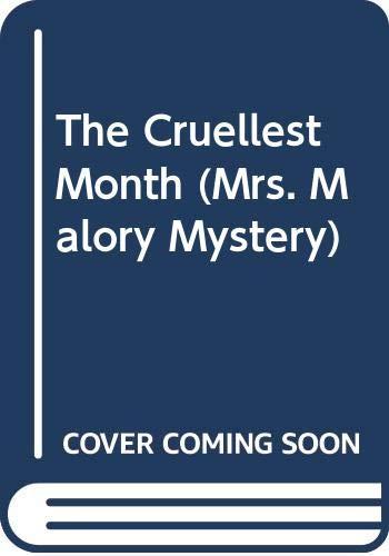 9780451403131: The Cruellest Month (Mrs. Malory Mystery ; no. 2)