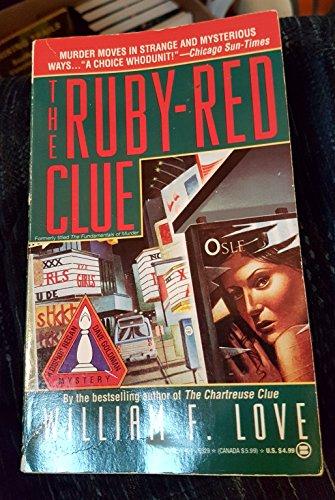 The Ruby-Red Clue (A Bishop Regan /: Love, William F.