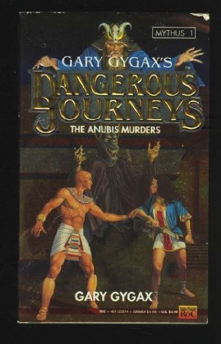 9780451452146: Gary Gygax's Dangerous Journeys, the Anubis Murders