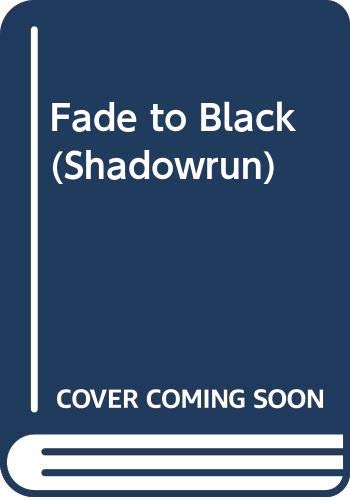 9780451453655: Shadowrun: Fade to Black