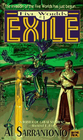 9780451455215: Exile (Five Worlds)