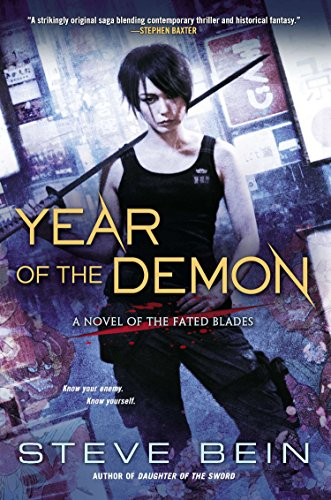 9780451465191: Year of the Demon (A Novel of the Fated Blades)