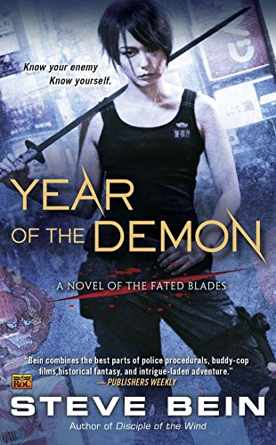 9780451465207: Year of the Demon (A Novel of the Fated Blades)