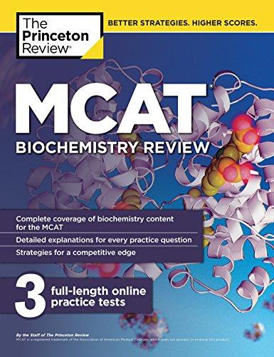 9780451487148: MCAT Biochemistry Review (Graduate School Test Preparation)