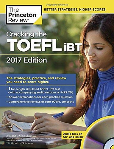 9780451487537: Cracking TOEFL 2017 (College Test Preparation)