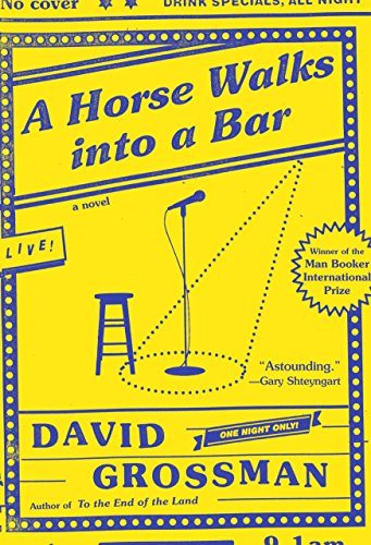 9780451493972: A Horse Walks into a Bar: A novel