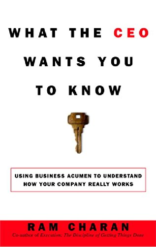 9780451497635: WHAT THE CEO WANTS YOU TO KNOW