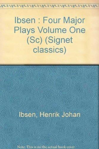 9780451506863: Four Major Plays: Volume 1